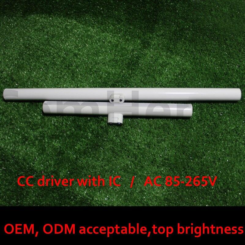 S14D led leuchtstoffröhre 3 w 6 w 10 w 12 w 15 w 300mm 500mm smart fahrer IC spiegel wand licht ersatz osram linestra fabrik ce rohs