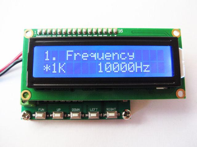 La nouvelle version du générateur de signal d'impulsion 1Hz-100 KHz PWM module de direction cycle de fonctionnement du signal 1 ~ 99%