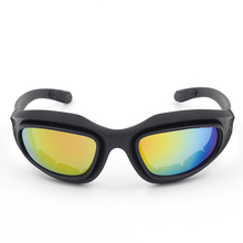 цена на XIWANG Outdoor Windproof Sunglasses Goggles Night Vision Windproof Sand Fashion Personality Ultraviolet Protection JY006