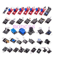 37 pcs módulo Sensor de kits para arduino Raspberry PI Não Incluem Caixa De Plástico