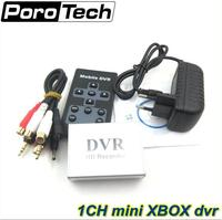 Hot 1Ch Mini DVR Support SD Card Real Time Xbox HD 1 Channel Cctv DVR Video
