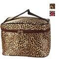 Jasmine Leopard Print Cosmetic Bags Women Travel Makeup Bag Make Up Bags 0210 drop shipping