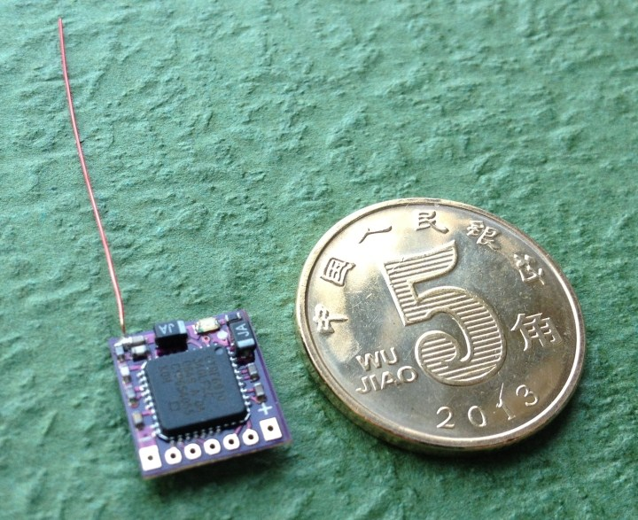 Mirco DSM2 receiver  Ornithopter RC Airplanes Aircraft parts weight 0.28g receiver
