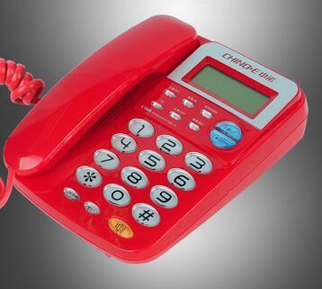 Мода Большие Кнопки Стационарные Сотовый Телефон Без Батареи Caller ID Фиксированной Телефонной линии Для Домашнего Офиса Отель Telefono Fijo
