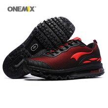 ** 男士黑色Zapatillas氣墊運動鞋/戶外散步運動鞋