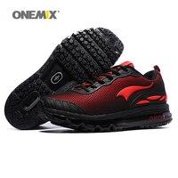 Max người đàn ông giày chạy cho đàn ông đẹp xu hướng chạy athletic trainers đen zapatillas thể thao đệm giày đi bộ ngoài trời sneakers