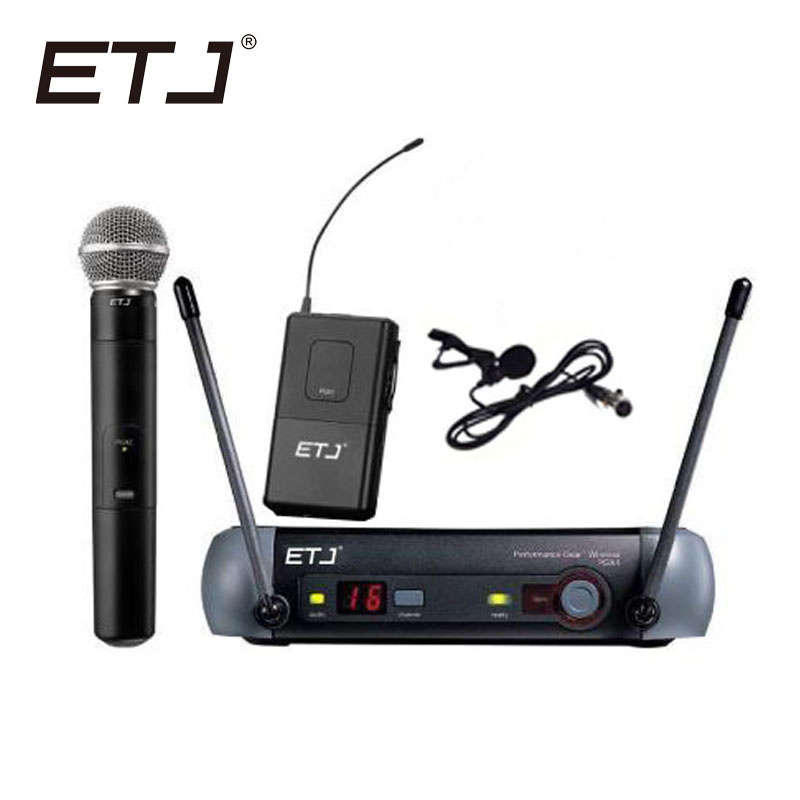Free Shipping Top Quality For ETJ PGX24 SM 58 BETA 58 58A Type Professional Wireless Microphone System