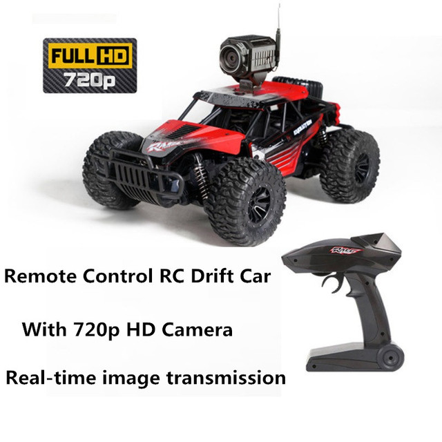 New WIFI RC Racing Car With 720P Hd Camera Real time Transimission Climb  Off Road Buggy RTR Drift Toy model kid best gifts