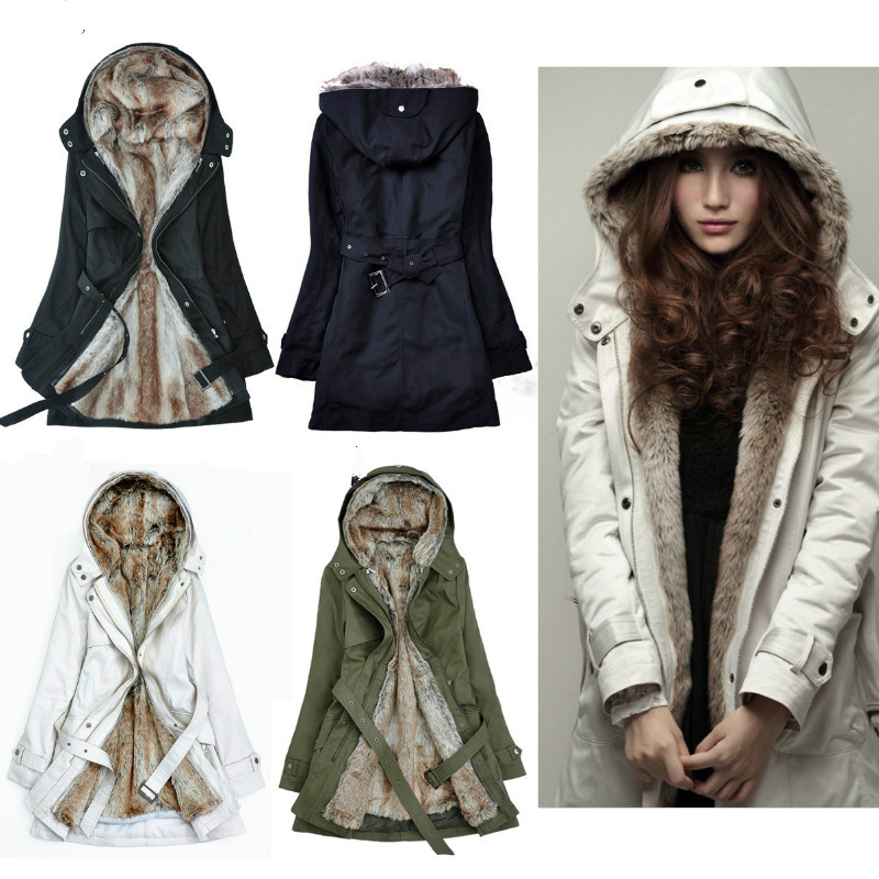 Winter Coat for Pregnant Women Fur Collar Hooded Jacket Maternity Clothes Outwear Down Parkas Pregnancy Clothing Snowsuit