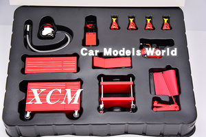 Image 3 - Model Scale Miniatures Garage Essentials Kit 1:18 (Red) + SMALL GIFT!!!
