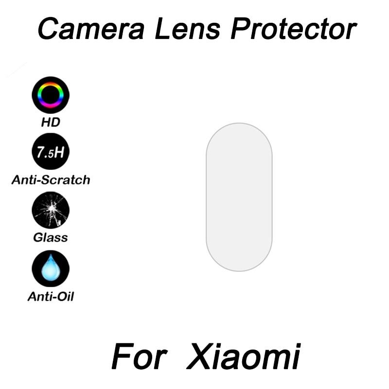 100PCS For xiaomi pocophone f1 Back Camera Lens Tempered Glass for xiaomi redmi note 5 for Xiaomi 6X Wholesaler drop shiping