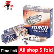 4pcs/lot China original TORCHIridium spark plugsK6RTI-11for MITSUBISHI  asx/galant vi/l 200/pajero iii/pajero iv/pajero sport