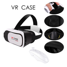 2016 newest Virtual Reality 3D Glasses VR BOX 3.0 Version VR CASE RK3PLUS With Remote Controller