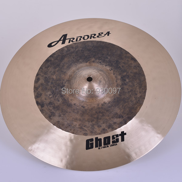 Arborea Raw cymbal , 100% handmade Ghost 16 crash CYMBAL arborea ghost cymbal set on sale