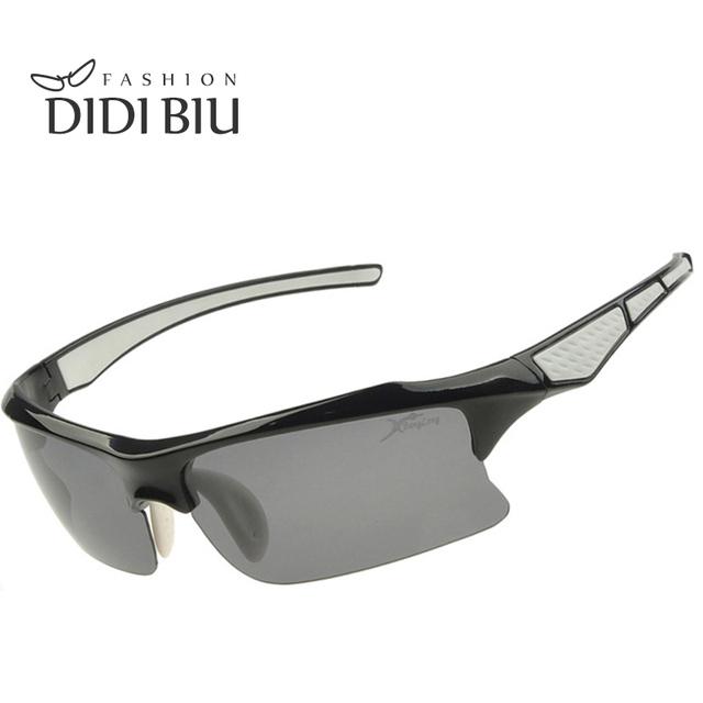 DIDI Óculos Polarizados Pesca Correndo Ao Ar Livre Esportes óculos de Sol Das Mulheres Dos Homens Metade do Quadro Para A Condução Caminhadas Tático Ciclismo de Estrada U295