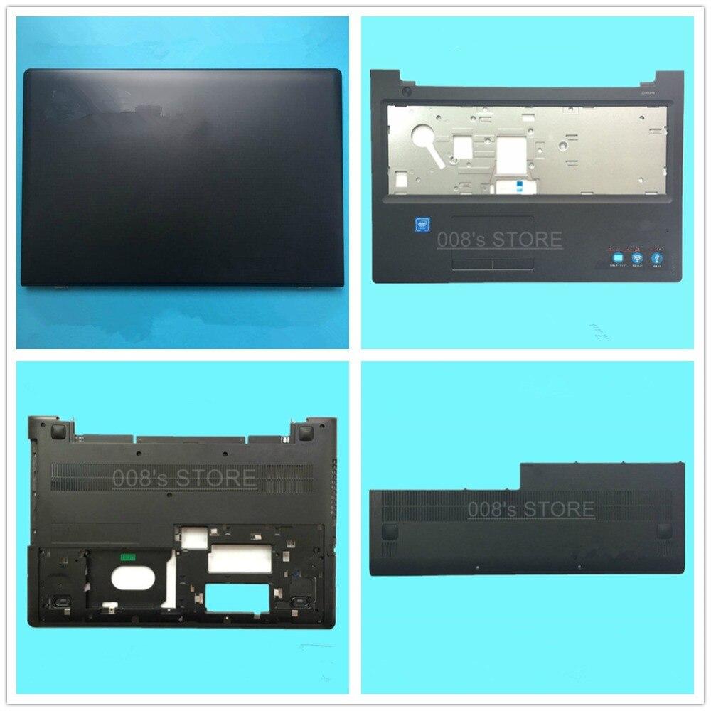 New Laptop LCD Top Back/Front Bezel/Bottom Base Case Cover For Lenovo IdeaPad 300 300-15 300-15ISK 300-15-ifi 15.6