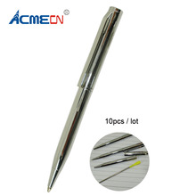 Free shipping Hot Sale 10pcs Metal Mini Ball Pen все цены