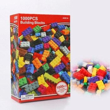 1000/2000Pcs City Building Blocks Creative Bulk Sets Compatible With LegoINGs DIY Educational bricks Assembly Toys for Children
