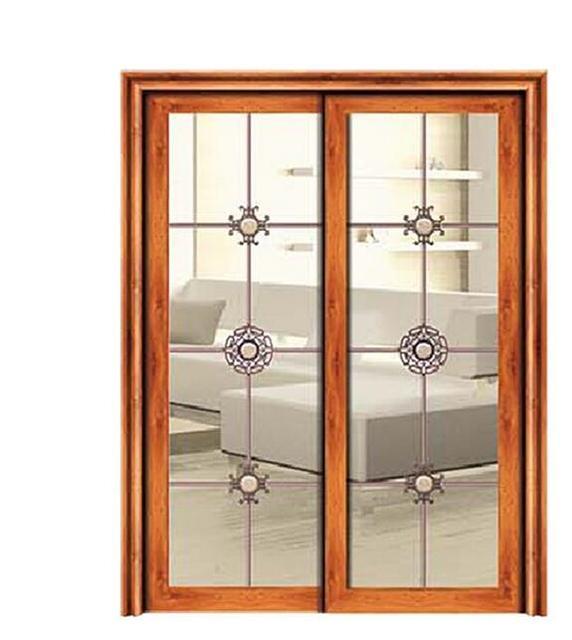 The Kitchen Sliding Door In The Toilet Door Aluminum Alloy Aluminum