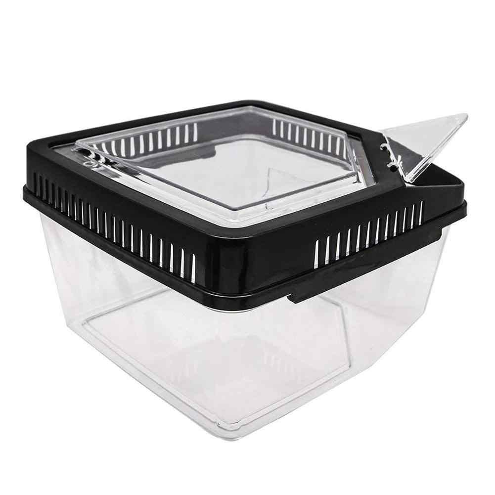 Transparent Breeding Box Incubator Terrarium Reptile Box Amphibian for Snake Cage Lizard Turtle Spider Reptile Combination