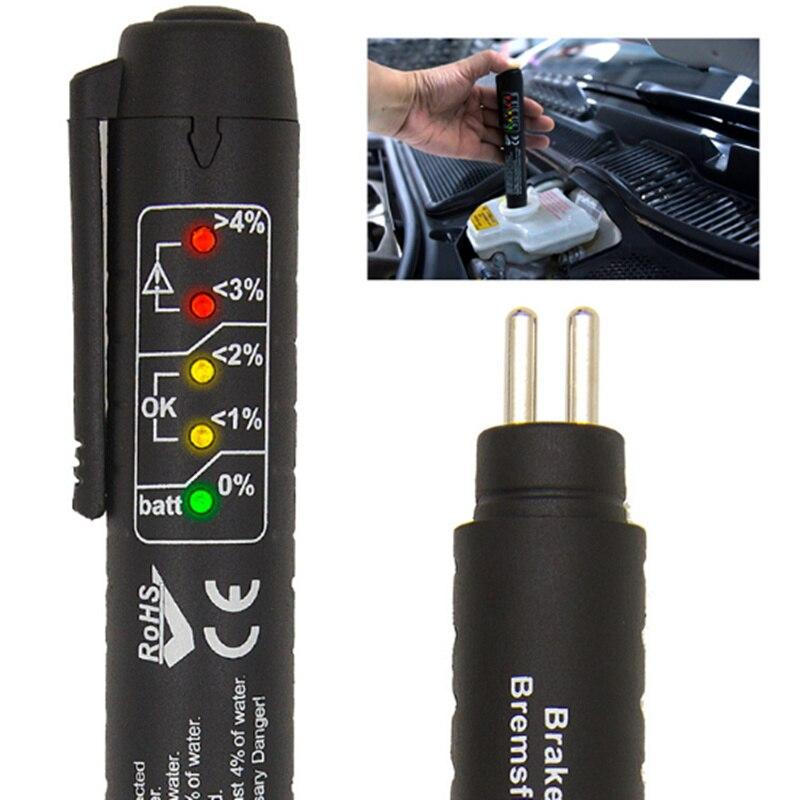 Car Tax Disc Holders Universal Car Fluid Check Pen Car Brake Liquid Digital Tester For Hyundai Ix35 Ix45 Sonata Verna Solaris Elantra Tucson Mistra