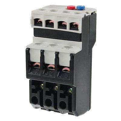 3 Pole 3P Motor Protection Thermal Overload Relay 4-6A 1 NO 1 NC ac 3 2a 5a motor protection thermal overload relay 1 no 1 nc