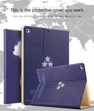 Tablet Protective Cases Painted  Flip smart stand pu leather full pro case for apple air12 mini1234 ipad 9.7 2017/2018 pro2017 8 2017 for new ipad pro 10 5 tablet case cover smart fundas pu leather slim protective stand for apple ipad 10 5 pro wallet cases