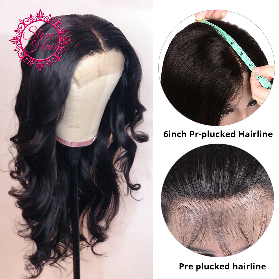 13 6 Lace Front Wig Deep Part Full End Lace Front Human Hair Wigs Remy Brazilian