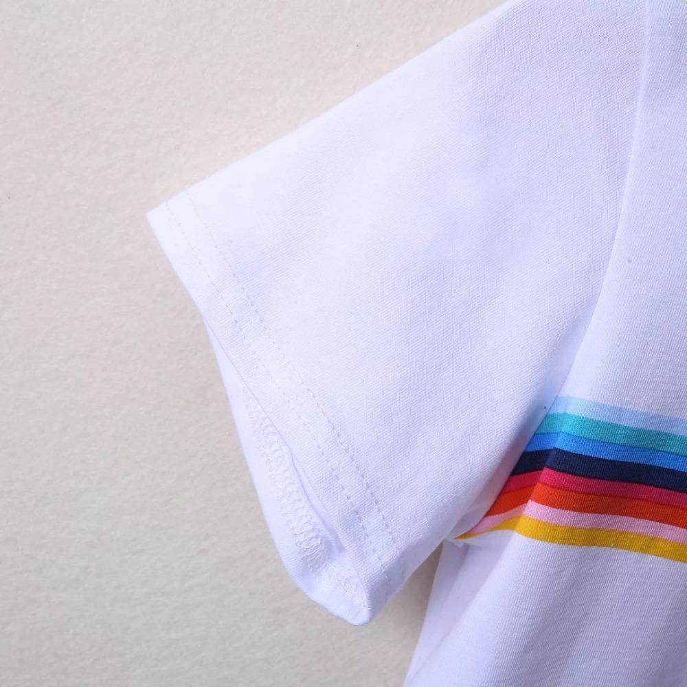 HTB1mRw0PVXXXXXGXVXXq6xXFXXXU - Rainbow Stripes Crop T-shirt PTC 141