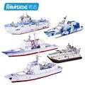 """Robotime деревянные 3D модель игрушки подарок головоломки десантного корабля лодка """"Зубр"""" класса LCAC 052C Ракетный оборудованная эсминец Крейсер"""