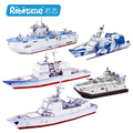Robotime wooden 3D model toy gift puzzle amphibious assault ship boat Zubr-class LCAC 052C Missile equipped destroyer Cruiser
