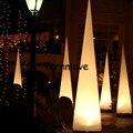 Надувной конус для дорожного движения  свадебное украшение  красочное освещение  светодиодное украшение для вечеринки  надувной конус с пу...