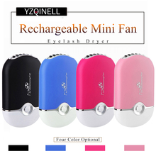 лучшая цена Eyelash Extension Mini Fan Air Conditioning Blower USB Lashes Fans Glue Grafted Eyelashes Dedicated Dryer Makeup Tools