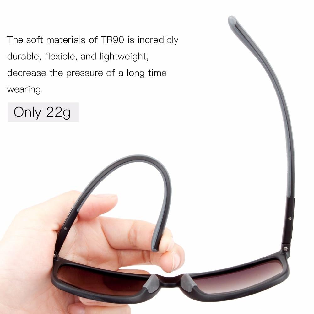 MEETLOCKS Polarisierte Radfahren Fahrrad Sonnenbrille Outdoor Sports Fahrrad Sonnenbrille mit TR90-Unzerbrechlich Leichte Rahmen