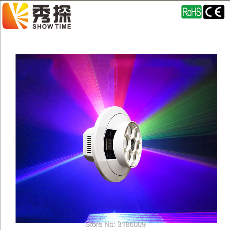 Show Time New Arrival 6 eyes Bee Beam effect light with Green Laser Mini Bee eye Moving head Zoom DJ DMX Disco Beam Wash Effect стоимость
