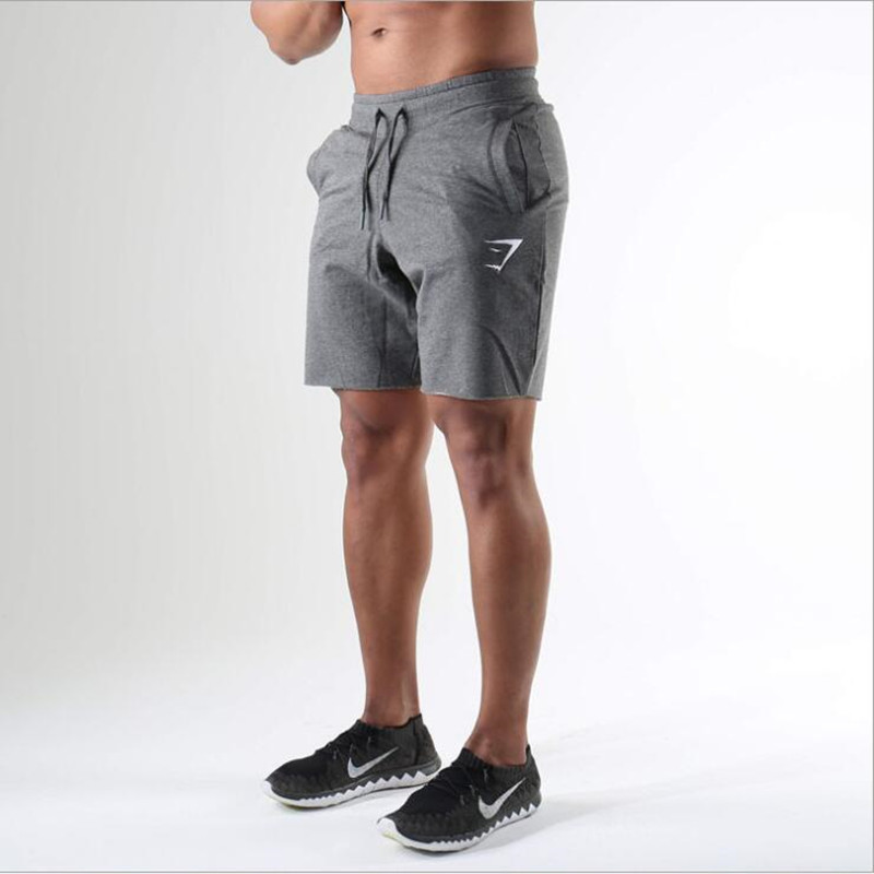 NEW MENS cotton gym trainning running  fitness workout sports short pants title=