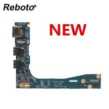 Reboto NOVO Original Para DELL Alienware 17 M17x R5 Série LAN porta USB Board VAS00 LS-9339P 0WH486 WH486 100% Testado Navio Rápido