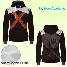 Men Cotton Thick Hoodie Sweatshirt Boku No Hero Academia 3D Hoodies Cute Printed for Fans