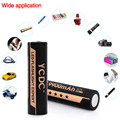 YCDC 18650 Battery 3.7V 9900mAh Li-ion Rechargeable Cells With Battery Box  For Flashlight High Power