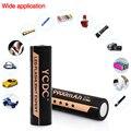 YCDC 18650 Células de Bateria 3.7 V 9900 mAh Li-ion Recarregável Com Caixa de Bateria Para Lanterna de Alta Potência