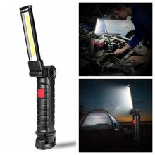 5 Mode COB Flashlight Torch led work light Hanging hook Lanterna Magnetic Portable Outdoor Camping Lamp
