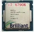 Оригинальный Процессор i7 4790 К Quad Core 4.0 ГГц LGA 1150 TDP 88 Вт 8 МБ (работает 100% Бесплатно доставка)