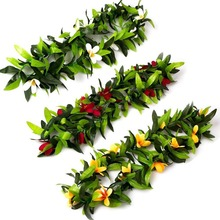 Artificial Plants Flower Garland Party DIY Decorations Hawaiian Luau Theme Summer Supplies
