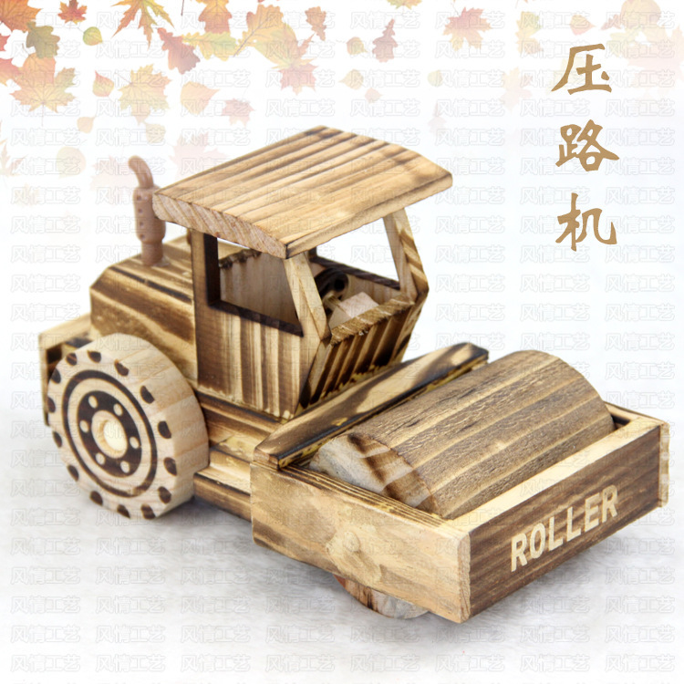 Manufacturers Selling Antique Wooden Handicrafts Wooden Roller