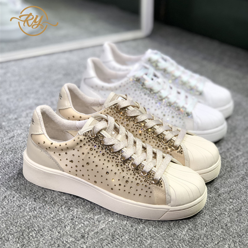 RY-RELAA women fashion sneakers women 2018 wedge sneakers  designer shoes Genuine Leather white sneakers casual shoes womenRY-RELAA women fashion sneakers women 2018 wedge sneakers  designer shoes Genuine Leather white sneakers casual shoes women