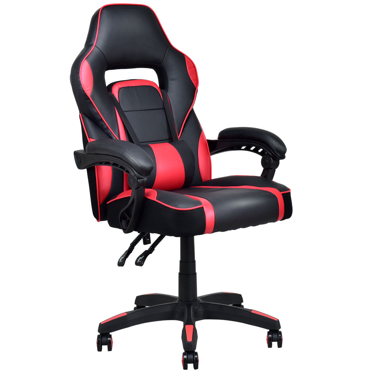 buy leather chairs online aliexpress buy giantex high back recliner executive 11873 | Giantex High Back Recliner Executive Racing Style PU Leather Gaming Chair Office Furniture Modern Swivel Armchairs