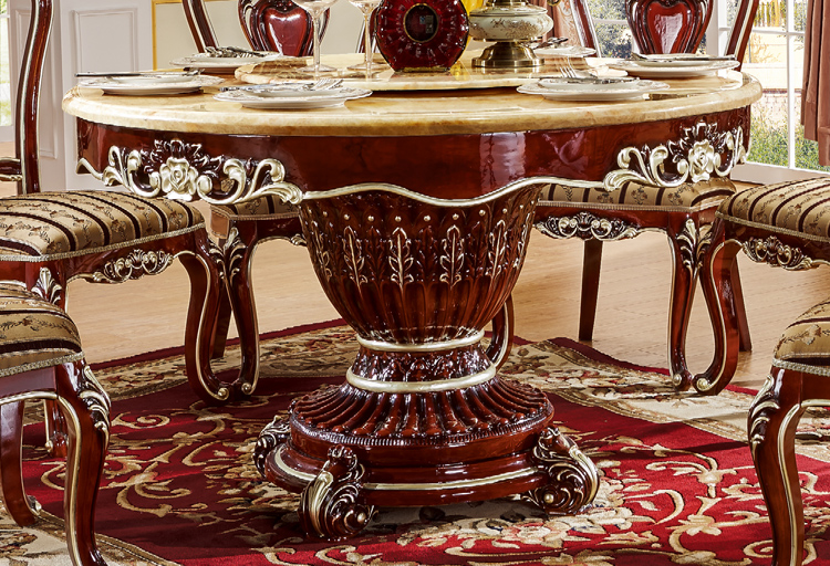 Elegant Round Dining Table Sets With Rotating Centre Dinning Tables Set Wood 6006 In Room From Furniture On Aliexpress Alibaba Group
