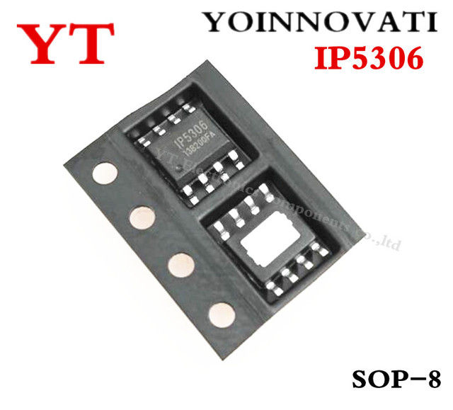 Free shipping 5pcs/lot IP5306 5306 ESOP8 IC best quality
