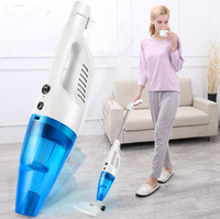 Household Cleaner Hand Rod Vacuum Cleaner Portable Aspirateur Ultra Quiet Strength Dust Collector Tools Vacuum Cleaner 220V 0306