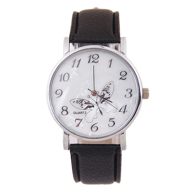 Women Watch Brand New and High Quality Embossed Band Special dial design Butterf